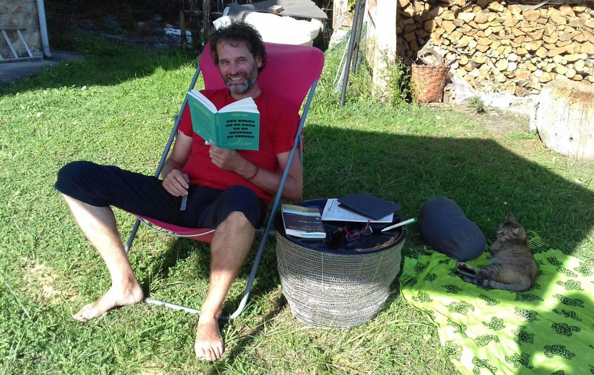 191011 Martin leest mijn boek
